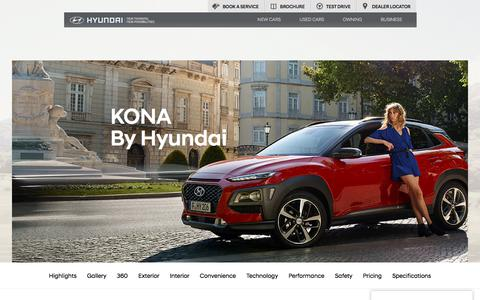 All New Kona - Quality and Irresistible Details - Hyundai UK