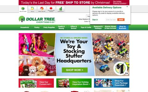 Dollar Tree, Inc.: Floral Supplies, Party Supplies, Cleaning Supplies