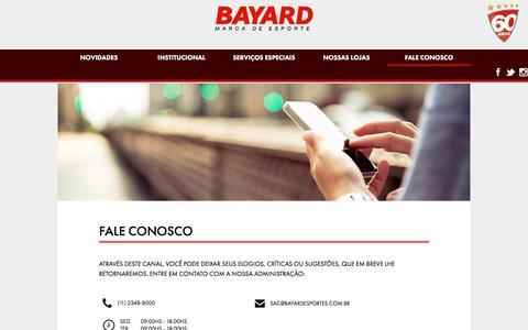 BAYARD ESPORTES - Fale Conosco