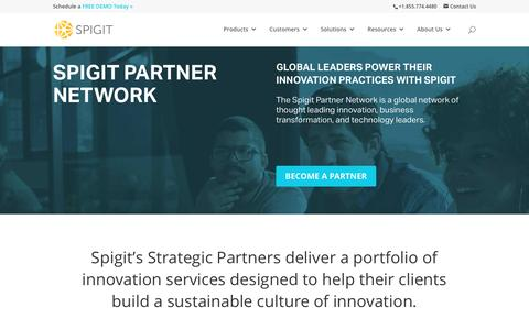 Spigit Partner Network - Spigit