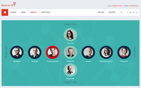 Screenshot of Team Page roomforids.nl - Team - Room for ID's - captured Oct. 29, 2014