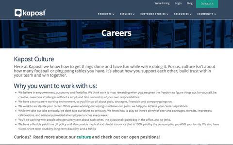 Careers - Kapost