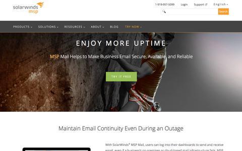 MSP Mail | SolarWinds MSP