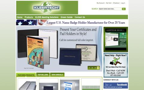 KLEERTECH® Home page