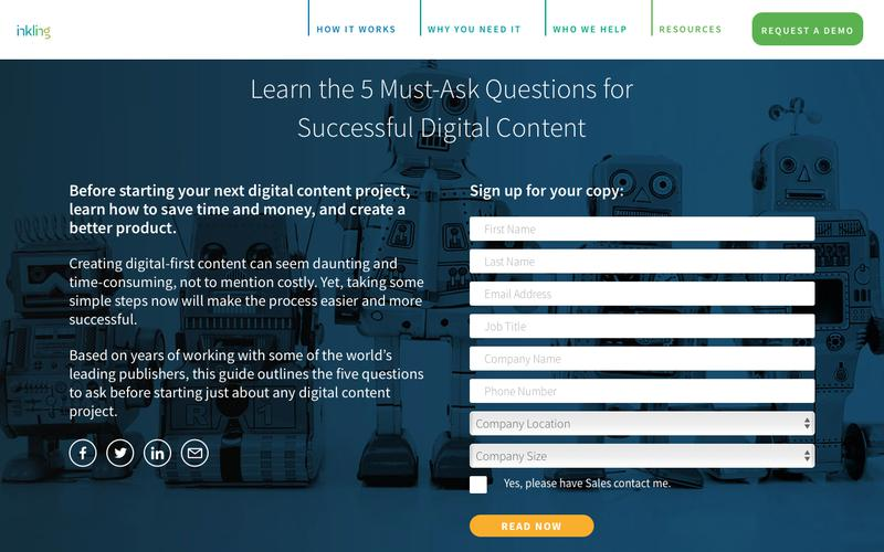 Learn the 5 Must-Ask Questions for Successful Digital Content