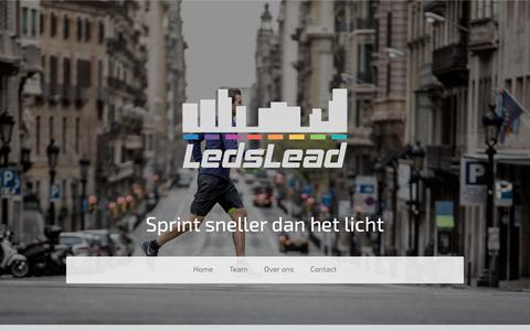 Screenshot of Site Map Page ledslead.nl - Sitemap - LedsLead - captured Sept. 27, 2018
