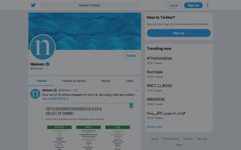 Tweets by Nielsen (@Nielsen) – Twitter