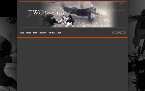 Screenshot of Login Page twobrothersfilms.com - Login | Two Brothers Films - captured Sept. 30, 2014
