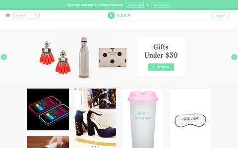Addictive Shopping | Keep.com