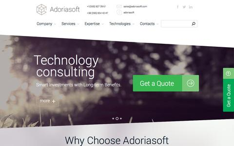 Adoriasoft Custom Software Development Company With A+ Expertise