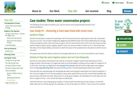 Screenshot of Case Studies Page canopy.org - Case Studies - Canopy : Canopy - captured May 14, 2017