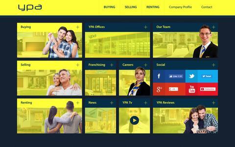 Screenshot of Home Page ypa.com.au - YPA Estate Agents - YPA Estate Agents - captured Nov. 11, 2018