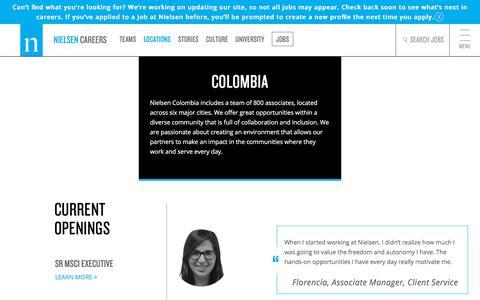 Colombia | Nielsen Careers