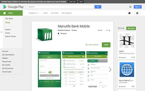 Manulife Bank Mobile - Android Apps on Google Play