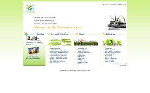 Screenshot of Home Page xenatusglobal.com - Xenatus Global :: Home - captured Oct. 7, 2014