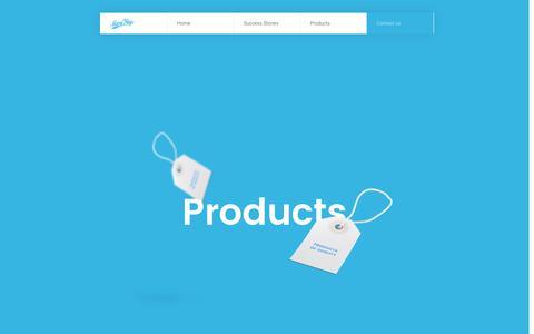 Screenshot of Products Page many-ways.ch - Social Media   Many Ways SA - captured May 28, 2017