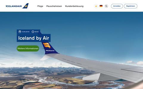 Screenshot of Blog icelandair.com - Blog | Icelandair - captured Sept. 22, 2018