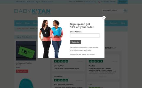 Screenshot of Testimonials Page babyktan.com - Baby K'tan Reviews | Wrap Style Baby Carrier - captured June 2, 2018