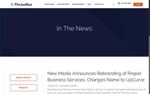 Press and Media Archive | ThriveHive