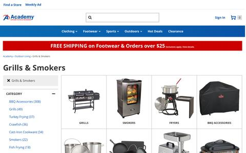 Grills & Smokers | Grills, Smokers, Fryers, BBQ Accessories | Academy