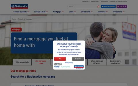 Our Mortgage Rates | Nationwide