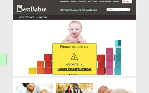 BestBabie.com - Online shopping for best baby products, safest baby products, and technology gadgets for babies and children