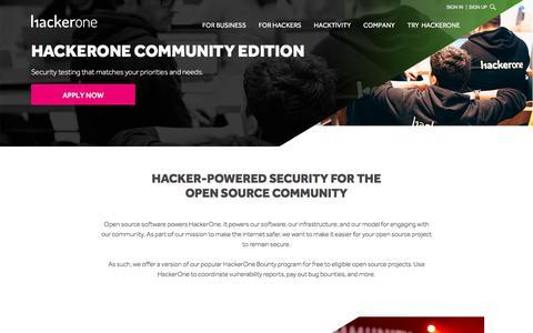 Ethical Hacking Community, Open Source Hacking - HackerOne