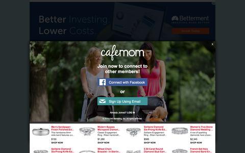 Screenshot of Contact Page cafemom.com - Feedback   - CafeMom - captured Dec. 7, 2015