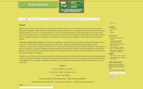 Screenshot of About Page wordpress.com - About | SCALtramente - captured Sept. 12, 2014