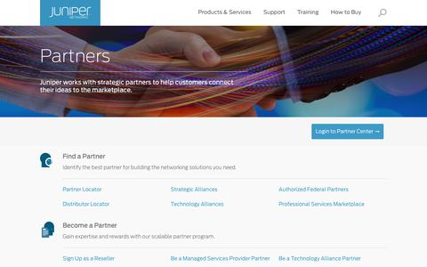 Partners – Juniper Networks