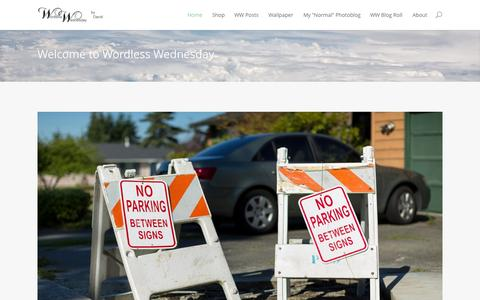 Screenshot of Home Page wwbydavid.com - Wordless Wednesday by David | Wordless Wednesday - captured Sept. 23, 2014