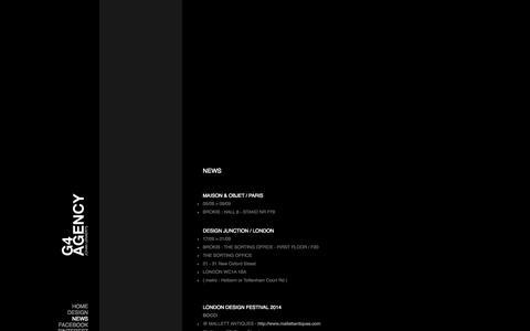 Screenshot of Press Page g4.be - G4 Agency / Johan Lenaerts - captured Oct. 1, 2014