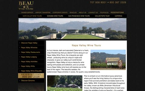 Napa Valley Wine Tours - Luxury Private Wine Tasting by Limousine