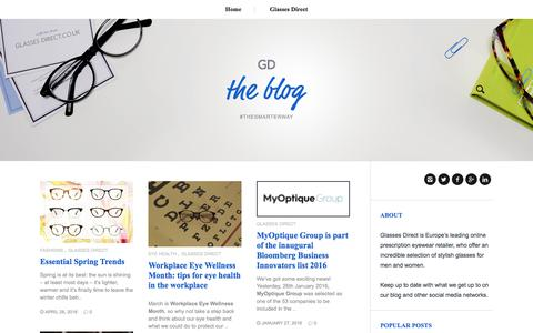 "Glasses Direct â""¢ Blog"
