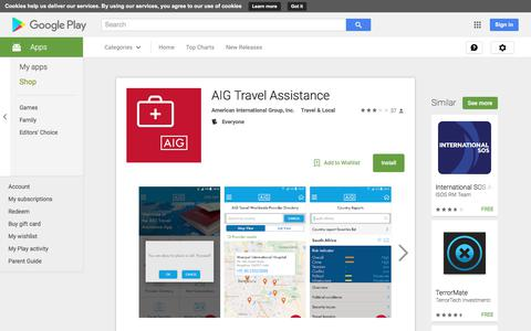 AIG Travel Assistance - Android Apps on Google Play