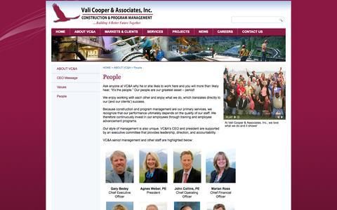 Screenshot of Team Page valicooper.com - People - captured Oct. 9, 2014