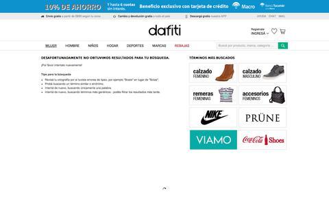 Zapatos, Ropa y Accesorios femenino | Comprá en Dafiti Argentina