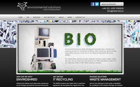 waste management - Environmental Solutions Waste Management