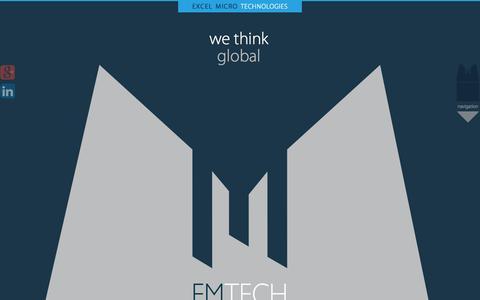 Screenshot of Contact Page emtech.gr - EMTECH | Contact Us - captured Oct. 1, 2014