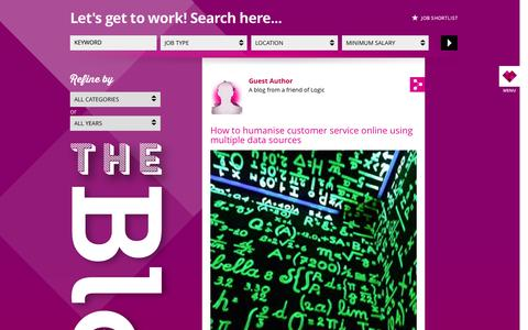 Screenshot of Blog lovelogic.co.uk - Logic | Blog - captured Oct. 3, 2014