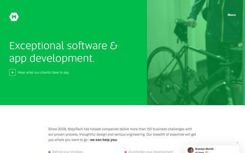 Custom Software Development Company | MojoTech