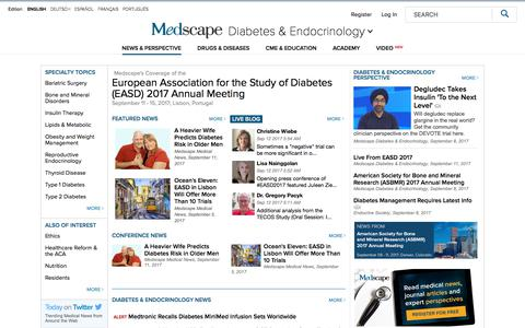 Diabetes & Endocrinology - Medscape