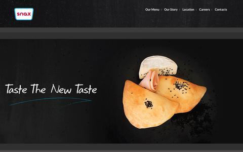 Screenshot of Home Page snax.com.co - Snax - captured Dec. 19, 2015
