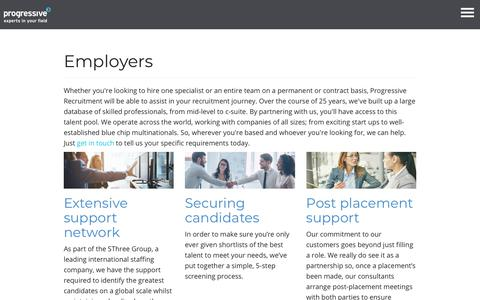 Helping companies hire skilled specialists and entire teams - Progressive Recruitment