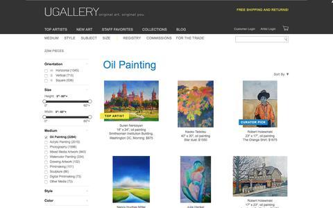 Oil Painting Artwork for Sale, Buy Art Online | UGallery