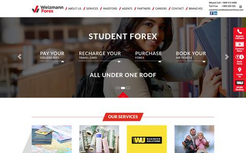 Weizmann Forex Limited | Foreign Exchange India | Buy Forex Online