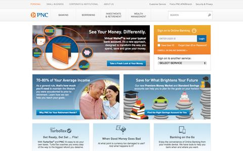 PNC Bank - PERSONAL BANKING
