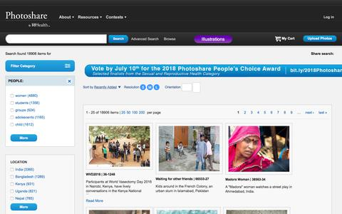Screenshot of Team Page photoshare.org - Photoshare   Public Health Photos and International Development Images Free for Nonprofit Educational Use - captured June 27, 2018