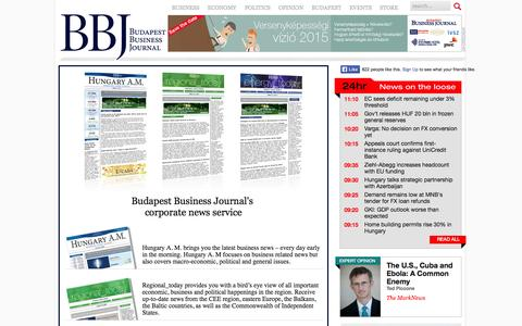 Screenshot of Trial Page bbj.hu - trial  | The Budapest Business Journal on the web | bbj.hu - captured Nov. 4, 2014