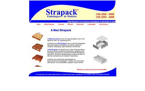 Screenshot of Home Page madstrapack.com.br - ...::: Mad Strapck :::... - captured Sept. 30, 2014